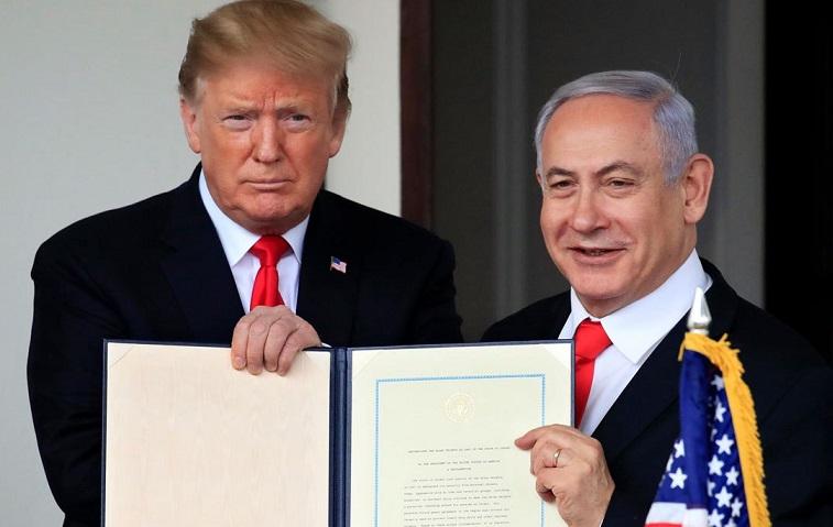"""Tramp: """"Qüds İsrailin bölünməz paytaxtı olaraq qalacaq"""""""